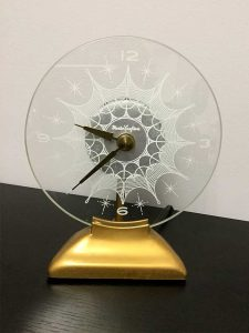 Circle Glass Clock